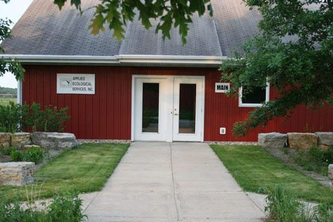 Applied Ecological Services (AES) Corporate Headquarters Entryway – Brodhead, Wisconsin