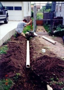 drainage systems, drain pipes