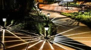 outdoor lighting for beauty, ambiance, and safety